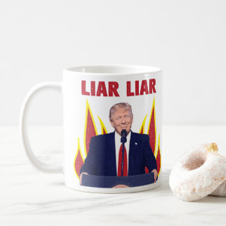 Trump Promises Liar Liar Coffee Mug