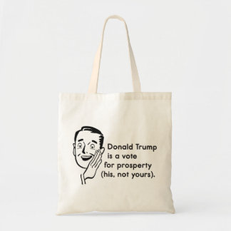 Trump Prosperity Tote Bag
