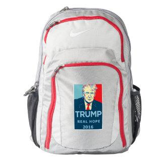 """Trump """"Real Hope"""" Nike Trademark Backpack"""