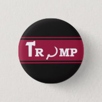 TRUMP RUSSIAN SOVIET PINBACK BUTTON