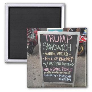 TRUMP SANDWICH MAGNET