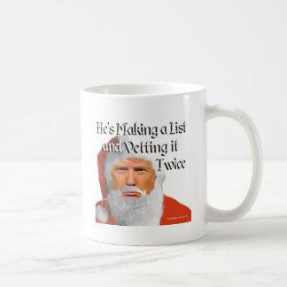 Trump Santa T-Shirt Coffee Mug