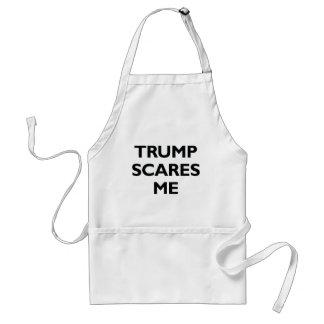 Trump Scares Me Adult Apron