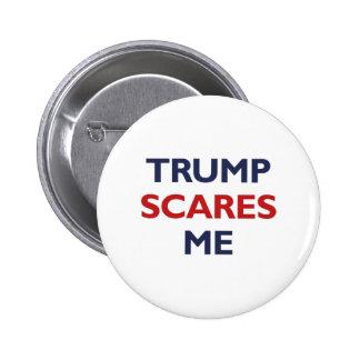 Trump Scares Me Button