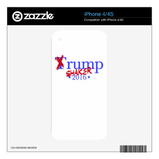 Trump Shaker Decals For The iPhone 4