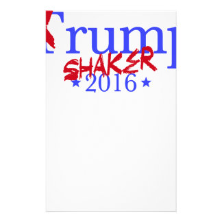 Trump Shaker Stationery
