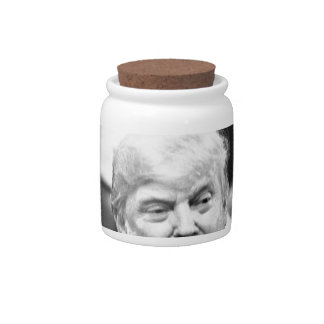 TRUMP SIZE QUEEN CANDY DISHES