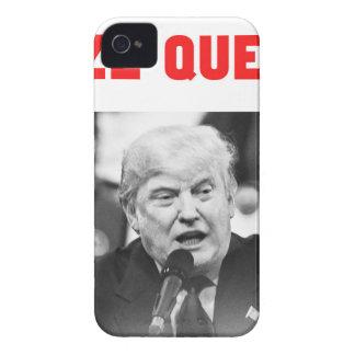 TRUMP SIZE QUEEN Case-Mate iPhone 4 CASE