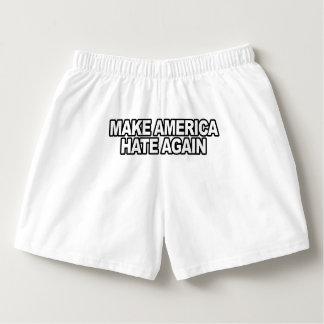 Trump Slogan - Make America Hate Again -.png Boxers