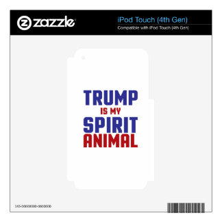 Trump Spirit Animal iPod Touch 4G Decal