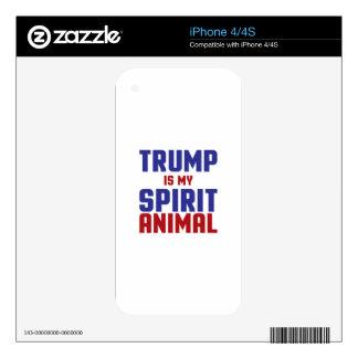 Trump Spirit Animal Skins For iPhone 4S