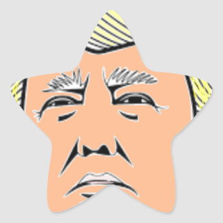 Trump Star Sticker