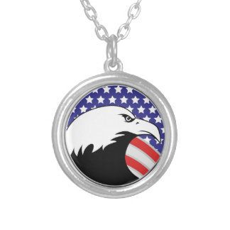 Trump: The End of an Error Silver Plated Necklace