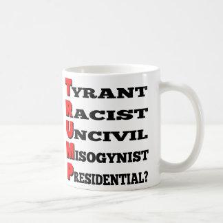 Trump the Uncivil Misogynist Racist Tyrant Mug