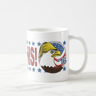 Trump This 2016 Not So Bald Eagle Coffee Mug