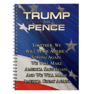 TRUMP TOGETHER WE WILL NOTEBOOK