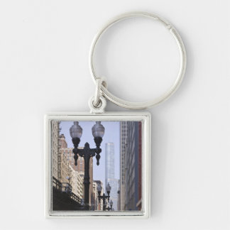 Trump Tower in the Background Key Chain