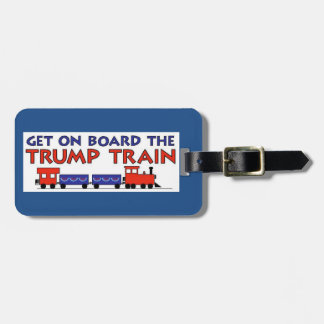 TRUMP TRAIN 2016 TAG FOR LUGGAGE