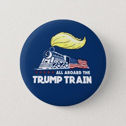 Trump Train 2020 Button