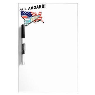 Trump Train Dry-Erase Board