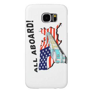 Trump Train Samsung Galaxy S6 Case