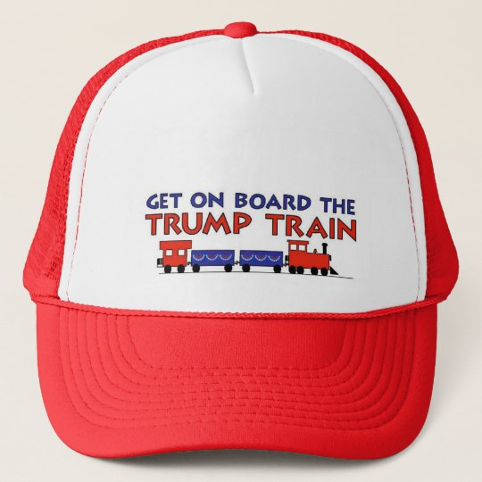 3dd277d629d TRUMP TRAIN TRUCKER HAT