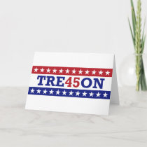 Trump Treason Greetings Card - TRE45ON