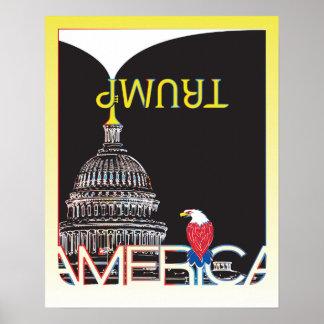 TRUMP Trumpet & Capitol Poster