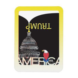 TRUMP Trumpet & US Capitol - night version Magnet