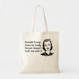 Trump Trust Women Tote Bag