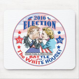 Trump versus Hillary 2016 Mouse Pad