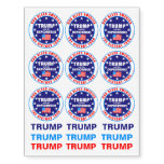 Trump Victory Tour Share With Your Friends Fun Temporary Tattoos