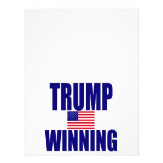 Trump winning letterhead