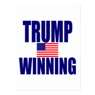 Trump winning postcard