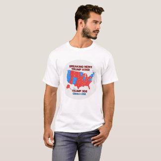 Trump Wins Election Map Man's Shirt