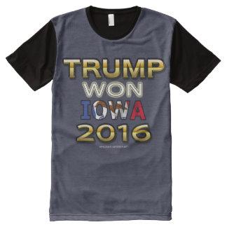 Trump Won Iowa 2016 shirt