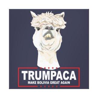 Trumpaca Official Canvas Print