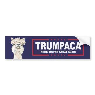 Trumpaca Official Trumpersticker Bumper Sticker