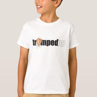 Trumped encima de la camiseta para los muchachos