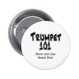 Trumpet 101 2 inch round button
