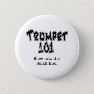 Trumpet 101 pinback button
