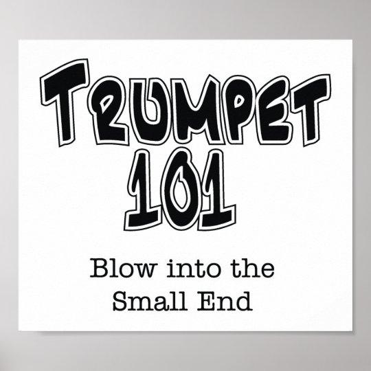 Trumpet 101 poster