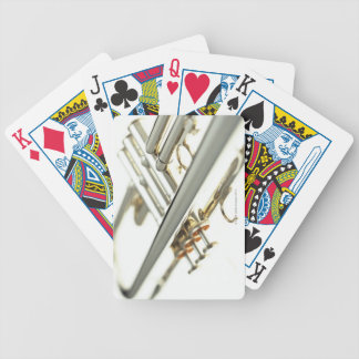 Trumpet 2 bicycle playing cards