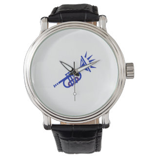 trumpet abstract with spikes blue.png wristwatches