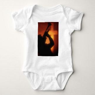 Trumpet and Cross Baby Bodysuit