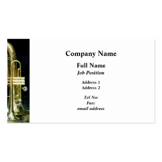 Trumpet and Tuba Business Card