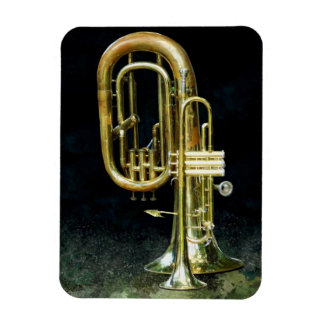 Trumpet and Tuba Magnet