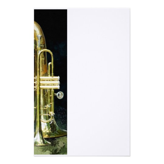Trumpet and Tuba Stationery