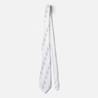 Trumpet arch neck tie