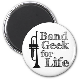 Trumpet Band Geek Magnet